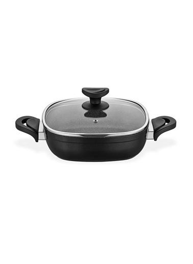 Schafer Granit Gastronomie Karnıyarık 24 Cm Siyah Siyah